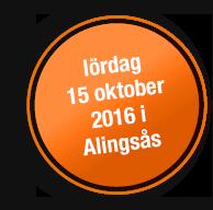 Lördag 15 oktober 2016 i Alingsås