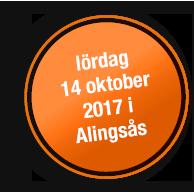 Lördag 14 oktober 2017 i Alingsås