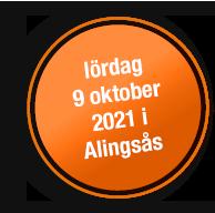 Lördag 9 oktober 2021 i Alingsås
